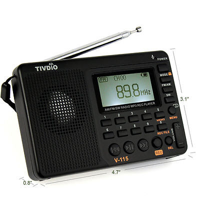 Time Traveler World Band Radio AM/FM/SW with 10,000+ old time radio OTR shows