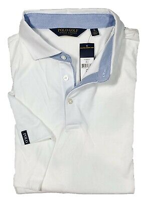 Polo Golf Ralph Lauren Men's White Short Sleeve Polo Shirt