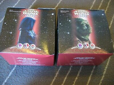 1999 Lot of 2 STAR WARS Taco Bell KFC Pizza Hut  Episode 1 Yoda's Destiny Sith