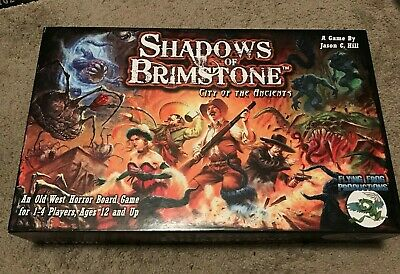 Shadows of Brimstone City of the Ancients Core Set Painted and complete set