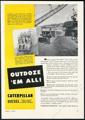 VINTAGE CATERPILLAR CAT D8 Series H Tractor Sales Brochure