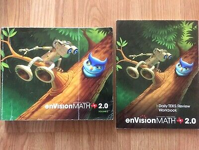 ENVISIONMATH 2 0 VOLUMES 1 and 2 , kindergarten, Texas
