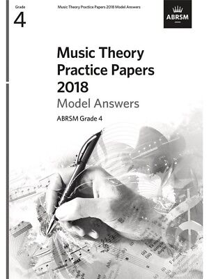 ABRSM Music Theory Practice Papers Model Answers 2018 - Grade 4 (Answers Only)