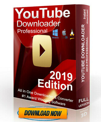 YOUTUBE DOWNLOADER VIDEO & File Converter Software App for Mac Windows 10 8  7 XP
