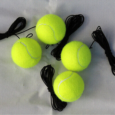 Practical Single Exercise Tennis Balls Trainer With Elastic Rope Replacement