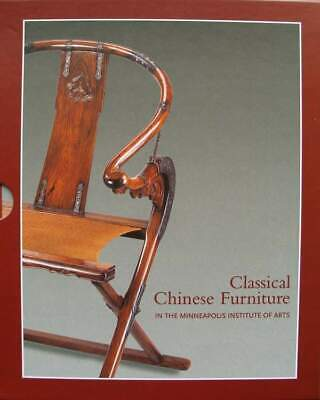 LIVRE/BOOK : Meubles chinois classiques / Classical Chinese Furniture (meuble