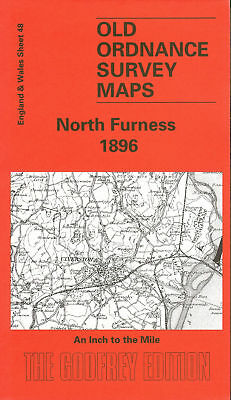 Old Ordnance Survey Map North Furness 1896