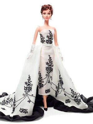 Barbie Collector Edition Audrey Hepburn As Sabrina Silkstone Barbie Doll Nrfb.