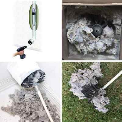 Chimney Brush Boiler Brush Dryer Duct Cleaning kit Household industrial chimney