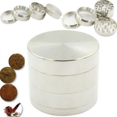 Hot Sale 4 Layers Metal Tobacco Crusher Hand Muller Smoke Herbal Herb Grinder Q