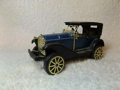 "VINTAGE DIECAST--1920's ANTIQUE TOURING CAR--PLASTIC--4"" LONG--VERY NICE"