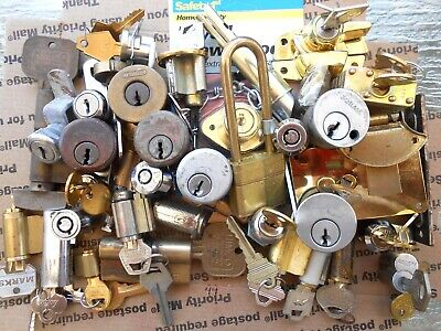 7.14 BS  Lock cylinders, locks, parts..  Locksmith,Student,Collectors ...