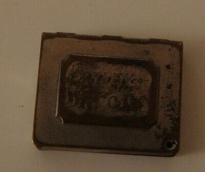 1888 HENLEY Bicycles Book-Shaped Pocket Stamp Holder Sparked Wright Brothers