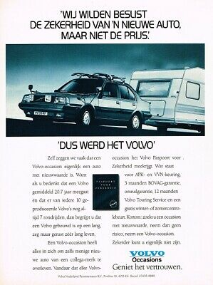 1989 Volvo Occasions (NL, 1pg.) Advertisement