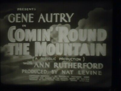 16mm Comin' Around The Mountain Gene Autry Smiley Burnette