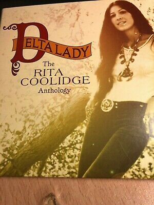 RITA COOLIDGE  Delta Lady [THE ANTHOLOGY] (2xCD 2004) RARE/20-Page Booklet/Duets