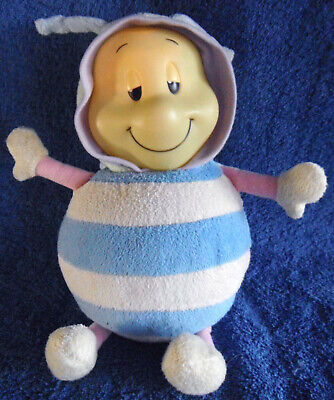 *1909a*  Classic Bee - Nuby Glo-Pals plays Lullaby - light - 25cm