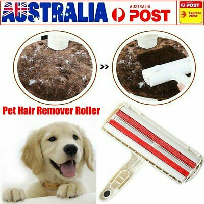 Pet Hair Remover Roller Self Cleaning Dog Cat Hair Remover Fur Removal Roller AU