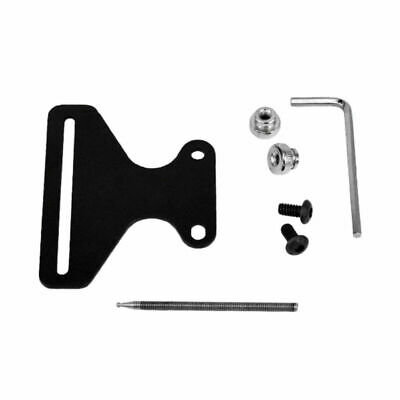 Black Bow Sight For Recurve Screws Brackets Hunting Archery Sport Training Tool