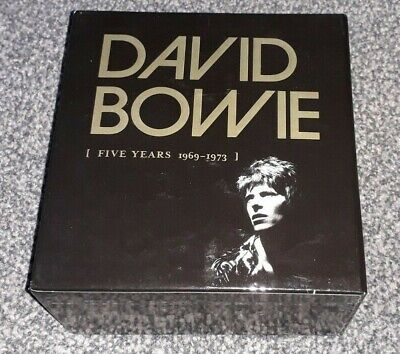 David Bowie - Five Years Box Set - Parlophone Gold Cd's Rare - Ziggy - Re:call