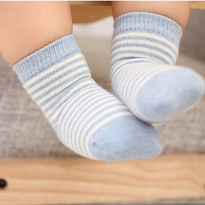 5Pairs Newborn Baby Boy Girl Cartoon Cotton Socks Infant Toddler Kids Soft Sock~