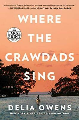 Where the Crawdads Sing Paperback – Large Print, August 14, 2018
