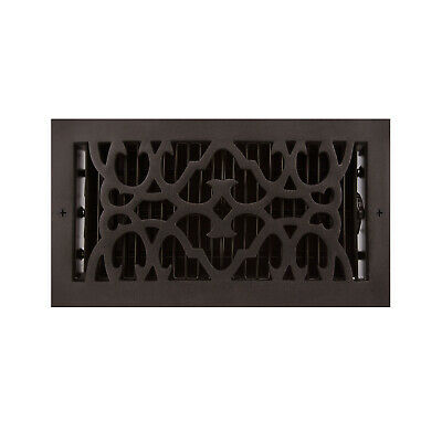 Signature Hardware Traditional Cast Iron Wall Register