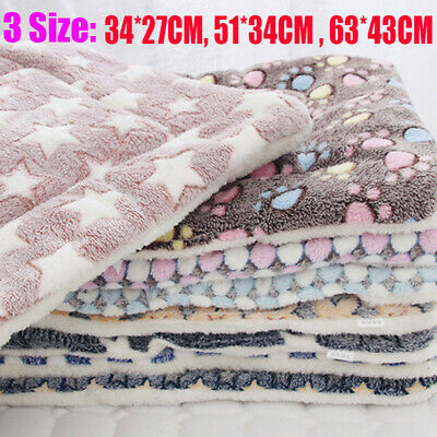 Pet Washable Home Blanket Cat Dog Bed Cushion Mattress Kennel Soft Crate Mat ^an