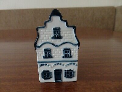 Delft Klm Bols Collectable Dutch Canal House No.1 - Wax Seal Intact