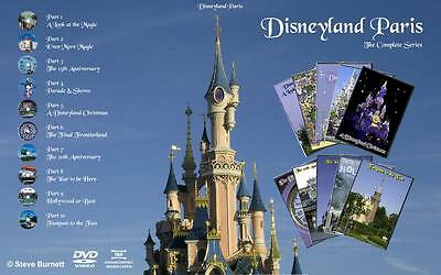 £2 EXTRA OFF - Disneyland Paris The Complete Collection on DVD (NEW)