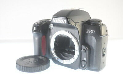 NIKON F80S 35mm SLR Film Camera Black Body Only **Excellent+5** From Japan FLvu