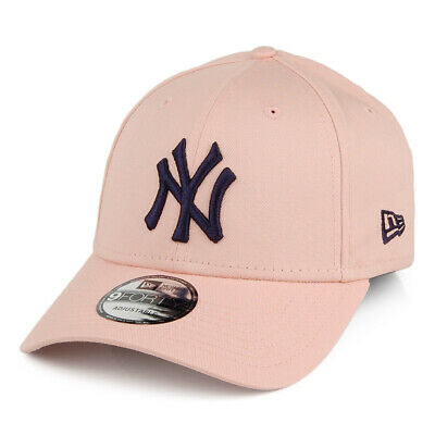 New Era 9FORTY NY Yankees Baseball Cap MLB League Essential Pink-Navy
