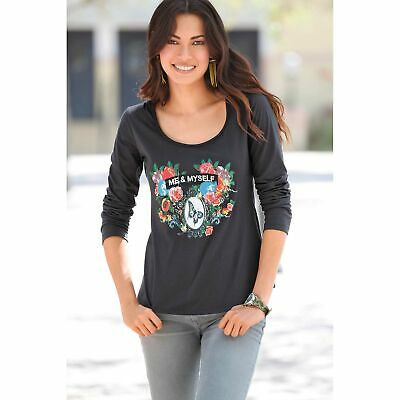 TEE SHIRT FEMME Manches Longues Taille 5052 EUR 7,00