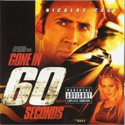 Gone In 60 Seconds (UK IMPORT) CD NEW