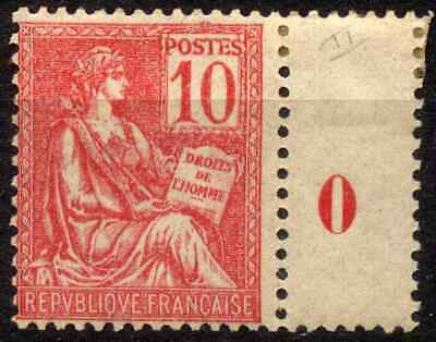FRANCE 1900 - 10 Cts MOUCHON TYP II MNH