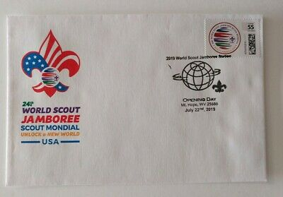 24th 2019 World Scout Jamboree official first day cover - rare