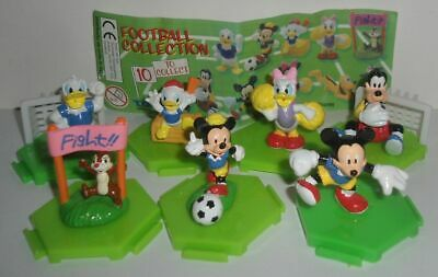 TOMY DIsney Football Konvolut