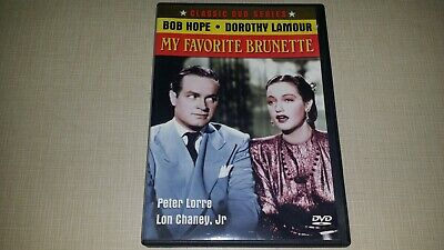 Classic Duo Series Bob Hope Dorothy Lamour My Favorite Brunette Dvd Comedy 1940S