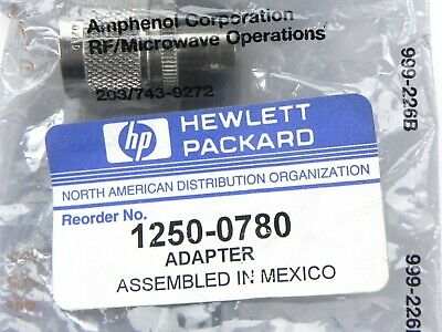 Agilent HP Keysight 1250-0780 Adapter - Coaxial Straight Female - BNC Male-N