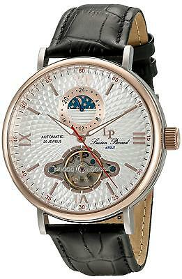 LucieN Piccard LP-15040-02S-RB Babylon Open Heart Moon Automatic GOLD NO BOX