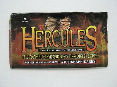 Hercules The Legendary Journeys Empty Trading Card Wrapper