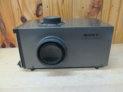 Vintage Sony VCR-4 Telecine Adapter – Film Photo Transfer