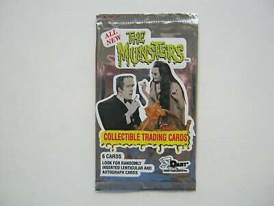 The Munsters Empty Trading Card Wrapper