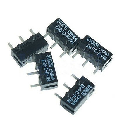 5Pcs Micro Switch OMRON D2FC-F-7N For Mouse GOOD SALES`CAEC