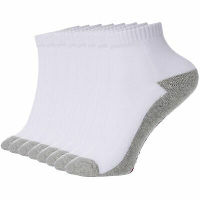 Alpine Swiss Mens 8 Pack Ankle Socks Low Cut Cotton Athletic Sock Shoe Size 6-12