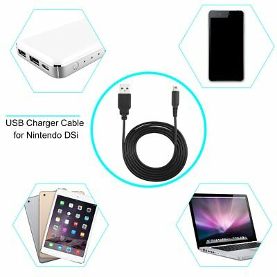 Charge Charing USB Power Cable Cord Charger for Nintendo 3DS DSi NDSI XL 7Q