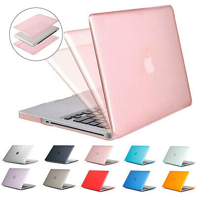 Crystal Case For Apple Macbook Air 11.6/13.3 Pro 15.4 Retina 12 Clear Hard Shell