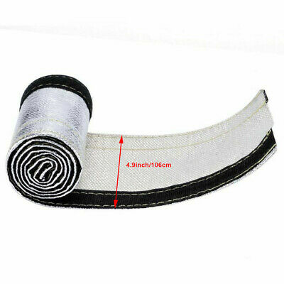 30MM 2M NEW Heat Shield Thermal Sleeve Insulated Wire Hose Cover Firesleeve