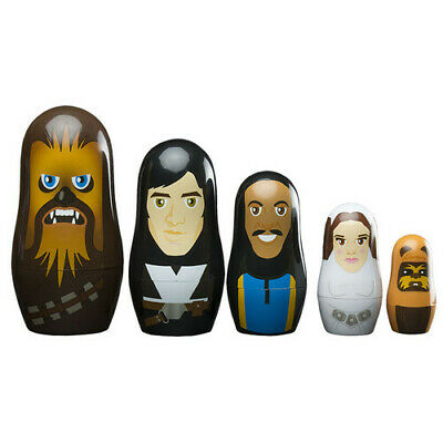 Great Unique Collectible PPW Toys Star Wars the Rebellion Nesting Doll Set