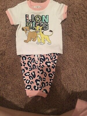 Disney Baby Lion King Set 000 0-3m Brand New With Tags